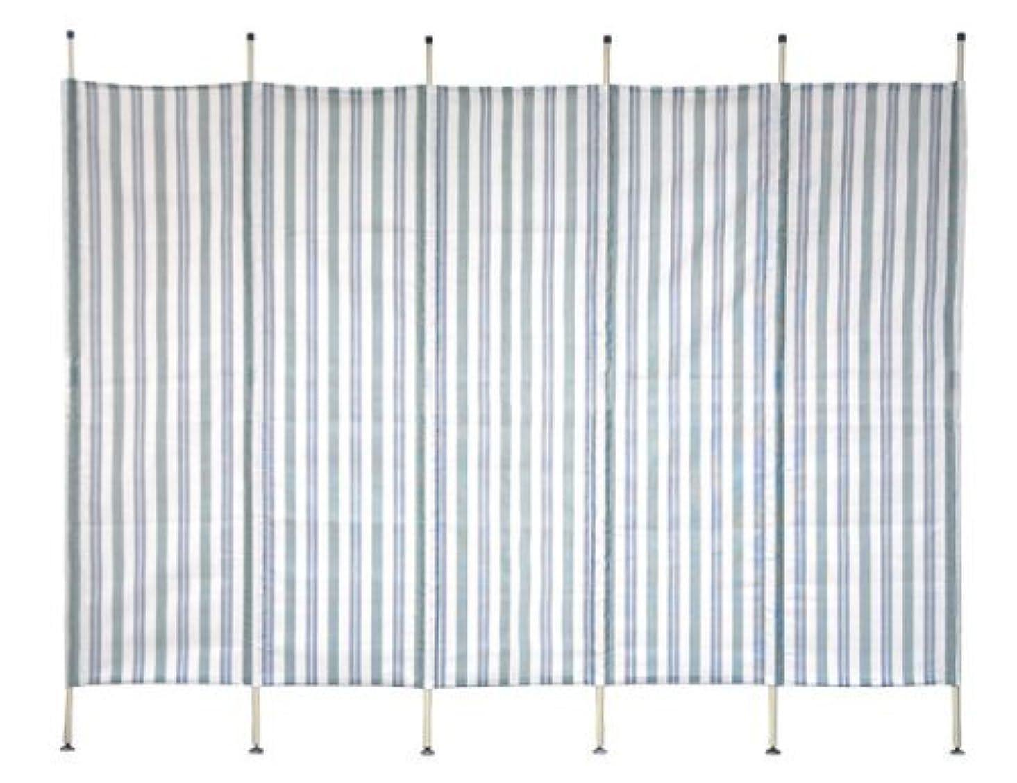 四分円苦行ジャンクション山善 ガーデンマスター 洋風たてすそよ風メイド テスリン5連(幅300) グリーン Y-2030T(GR)