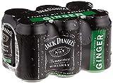 Jack Daniel's & Ginger Whiskey (6 x 0.33l)
