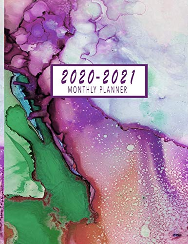 2020-2021 Monthly Planner: 2 Year Monthly Calendar 2020-2021 | 24 Months Agenda Planner with Federal Holidays | Jan 2020 - Dec 2021 Monthly Planner ... Calendar Planner 8.5x11, Two Year Planner)