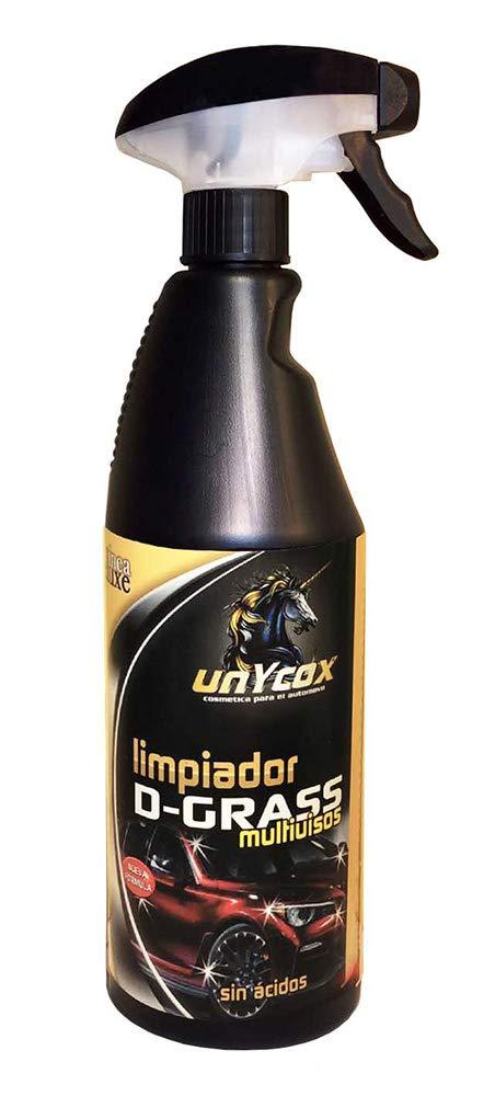 Unycox UNYCQ Limpiador Dgrass Gama Deluxe, Bote Negro, 750 ml: Amazon.es: Coche y moto