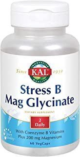 KAL Stress B Mag Glycinate | 60 VegCaps
