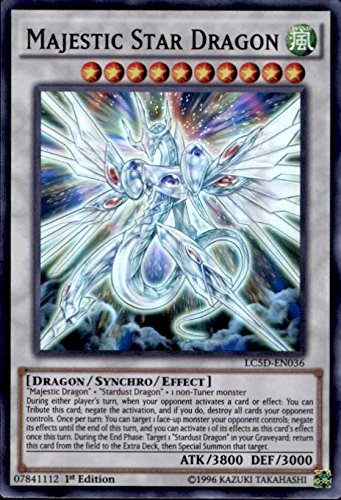 Yu-Gi-Oh! - Majestic Star Dragon (LC5D-EN036) - Legendary Collection 5D's Mega Pack - 1st Edition - Super Rare by Yu-Gi-Oh!