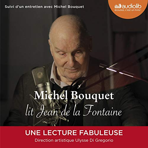 Michel Bouquet lit Jean de La Fontaine audiobook cover art