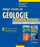 Mémo visuel de géologie - 2e éd. - L'essentiel en fiches et en couleurs