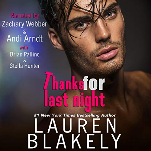Page de couverture de Thanks for Last Night