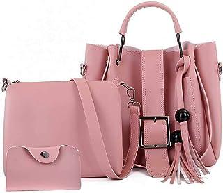 None/Brand Ladies Pu Fashion Handbag, Shoulder Bag, Messenger Bag, 3 Piece Suit, Large Capacity Office Bag, Fashion Wooden...