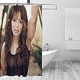 Eine der Königinnen von Europa & Amerika Duschvorhang, wasserdichte Polyester Badezimmer Badewanne dekorative Gardinen