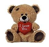 Whitehouse Leisure International Ltd. Peluche Oso San Valentín con corazón I Love You, 20 CM ( 8')
