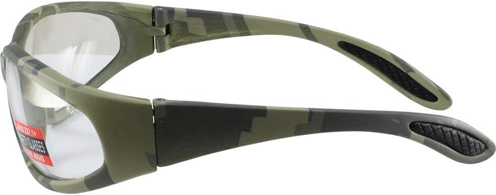Global Vision Eyewear Digital Camo Safety Glasses