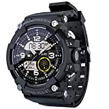 A Estrenar Smart Watch Fitness Tracker Sports Bluetooth Watch IP68 Rastreador De Ritmo Cardíaco A Prueba De Agua Carga Magnética para Android iOS,C