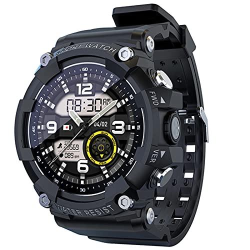 Ake Smart Watch Men's Fitness Tracker Ritmo Cardíaco Monitor De Presión Arterial Monitor De Pantalla Táctil Deportes Reloj Inteligente para Android iOS,C