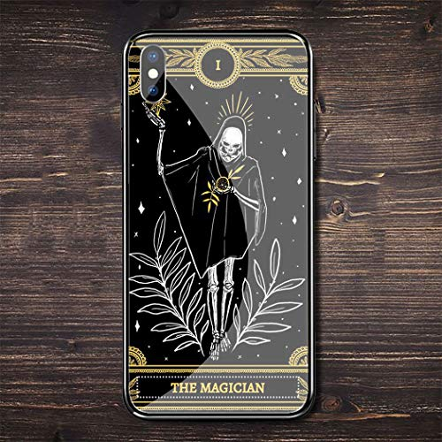 Inspired by Tarot Cards Phone Case Compatible With Iphone 7 XR 6s Plus 6 X 8 9 11 Cases Pro XS Max Clear Iphones Cases TPU- Majestic- Mantegna- Vaporesso- Case- Case- 4000400606491