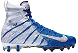 Nike Men's Vapor Untouchable 3 Elite Football Cleats (White/Royal, Numeric_11)