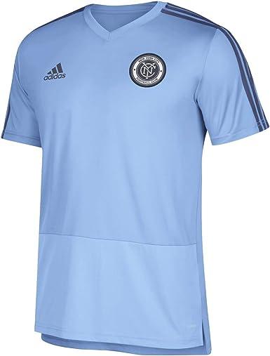Amazon.com : adidas New York City FC MLS Men's Light Blue ...