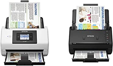$1028 » Epson DS-780N Network Color Document Scanner & Workforce ES-400 Color Duplex Document Scanner for PC and Mac, Auto Documen...