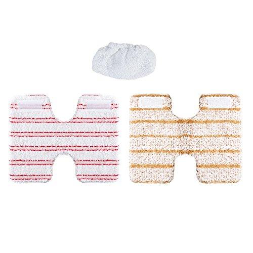 Polti - mod. PAEU0319–Kit di panni per pulizia e fodera di protezione per il pulitore a vapore Vaporetto mod. Lecoaspira