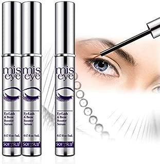Natural Eyelash Growth Serum by Softsub, For Voluminous Long Brow & Thicker Rapid Lash boost, Enhances Eyebrow & Eyelash - Support Lash Growth and Rapid eyebrow Growth(5ml)