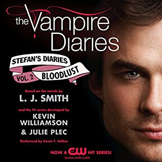 The Vampire Diaries: Stefan's Diaries #2: Bloodlust                   By:                                                                                                                                 L. J. Smith,                                                                                        Kevin Williamson,                                                                                        Julie Plec                               Narrated by:                                                                                                                                 Kevin T. Collins                      Length: 5 hrs and 43 mins     16 ratings     Overall 3.9