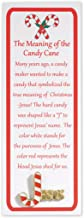 Christian Brands Story of The Candy Cane Lapel Pin and Bookmark Set