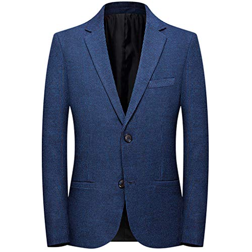 Fantastic Prices! jin&Co Men's Blazer Jacket Slim Button Lapel Oversized Classic Business Casual S...