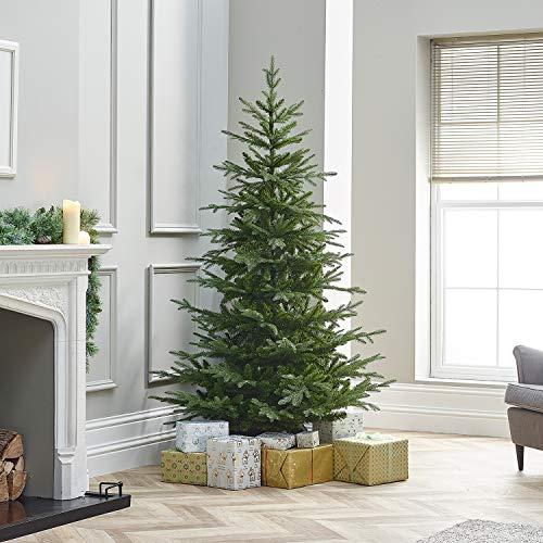 Everlands Greenwich Fir 180Cm Albero di Natale E Decorazioni, Multicolore, Unica