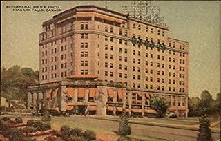 General Brock Hotel Niagara Falls, Ontario Canada Original Vintage Postcard