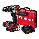 Einhell Expert TE-CD 18 Li-i Taladro percutor sin cable rojo sin bater/ía, 18 V, Power-X-Change 4512097 Kit para principiantes que incluye Bater/ía 2,5 Ah Cargador Power X-Change