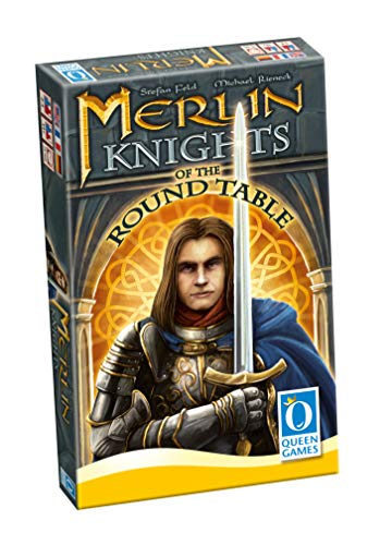 Queen Games 10422 - Merlin - Knights of The Round Table (Erweiterung, INT)