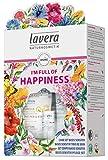 lavera Gift Set I am full of happiness ∙ Set de regalo'Estoy lleno de felicidad' ∙ Vegano  Cuidado facial biológico  Cosméticos naturales 100% certificados  1 Paquete