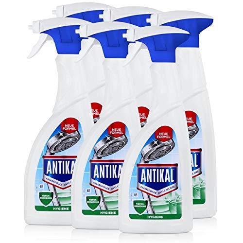 Antikal Kalkreiniger Hygien Spray 700ml - Entfernt Kalk (6er Pack)