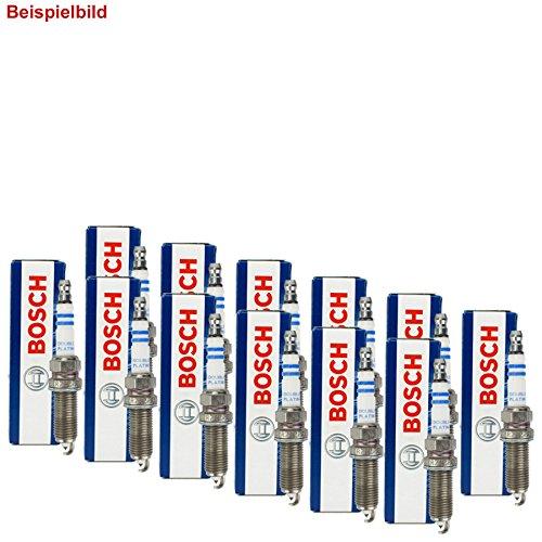 12 Bosch Zündkerzen Set Double Platinum