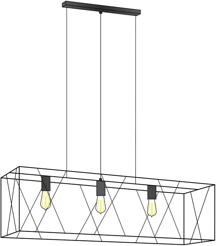 Deckenleuchten Decken-Pendelleuchten Frame drhte Grünikal 3