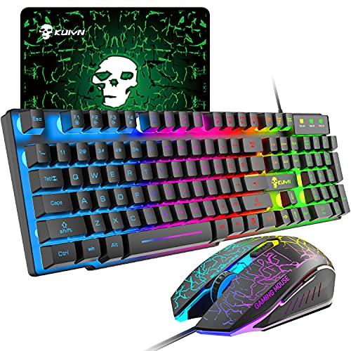 Teclados Y Ratones Gaming Baratos Blacnos teclados y ratones gaming  Marca UrChoiceLtd