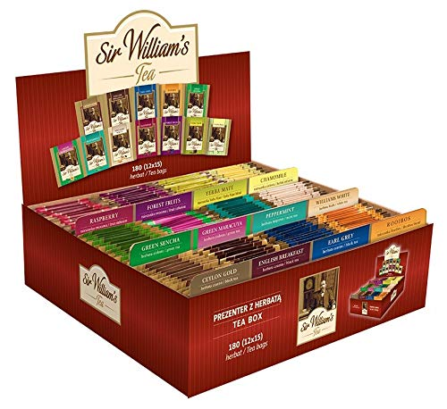 Sir Williams gefüllte Teebox