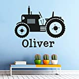 Acker Traktor Wand Vinyl Aufkleber benutzerdefinierte