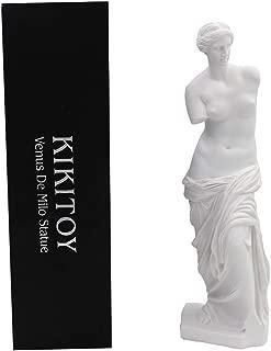 KIKITOY Venus De Milo Goddess Aphrodite Greek Roman Mythology Statue