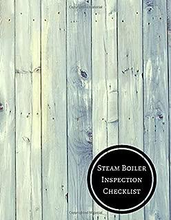 Steam Boiler Inspection Checklist: Boiler Checklist