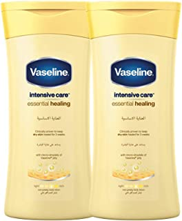 Vaseline Body Lotion Essential Healing, 2 X 400 ml