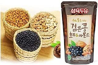 SahmYook Black Soy Bean With Walnut and Almond (190ml) 1EA / 삼육두유 검은콩 호두 아몬드 파우치 1개