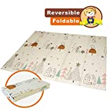 Baby Folding mat Play mat Extra Large Foam playmat Crawl mat Reversible Waterproof