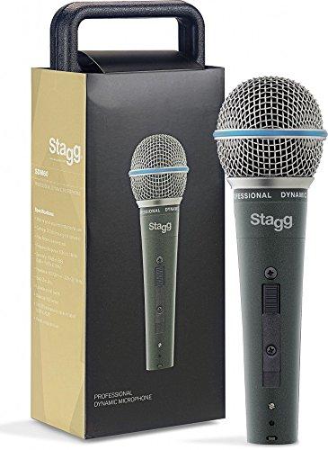 Stagg, SDM60, microfono dinamico cardioide professionale