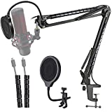 Hyperx Quadcast Mic Stand with Pop Filter -...