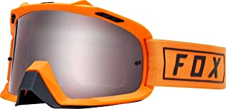 Fox Racing Air Space Gasoline Men's Off-Road Motorycle Goggles - Orange Flame/No Size
