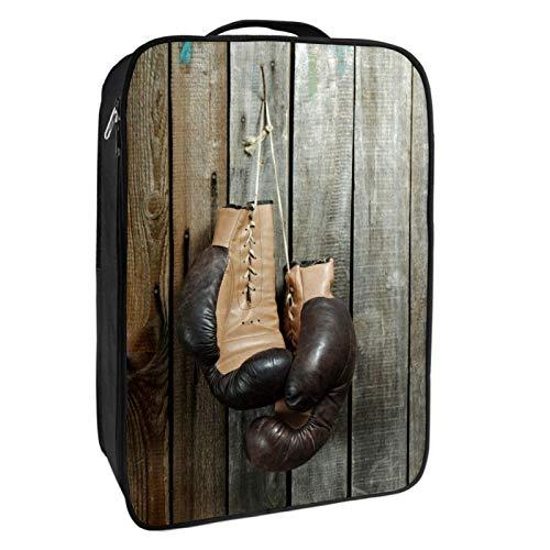 Schuh-Aufbewahrungsbox für Reisen und den täglichen Gebrauch, Boxhandschuhe, Schuhtasche, Organizer, tragbar, wasserdicht bis zu 12 m, mit doppeltem Reißverschluss und 4 Taschen