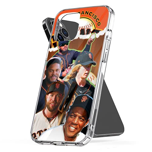 Phone Case Compatible with iPhone 7 2020 Xr Se X 6 11 12 8 Small 6s Sf Plus Giants Xs Collage Pro Max Mini Combine Photo Media Mixed Jumbo Collage
