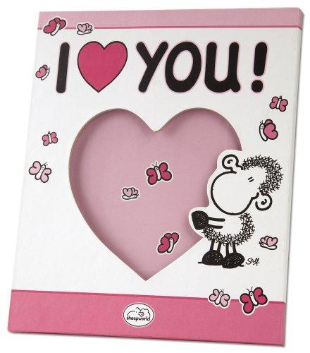 Sheepworld 41094 Bilderrahmen Love