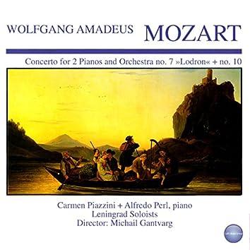 "Mozart: Concerto for 2 Pianos and Orchestra No. 7 ""Lodron"" + No. 10"