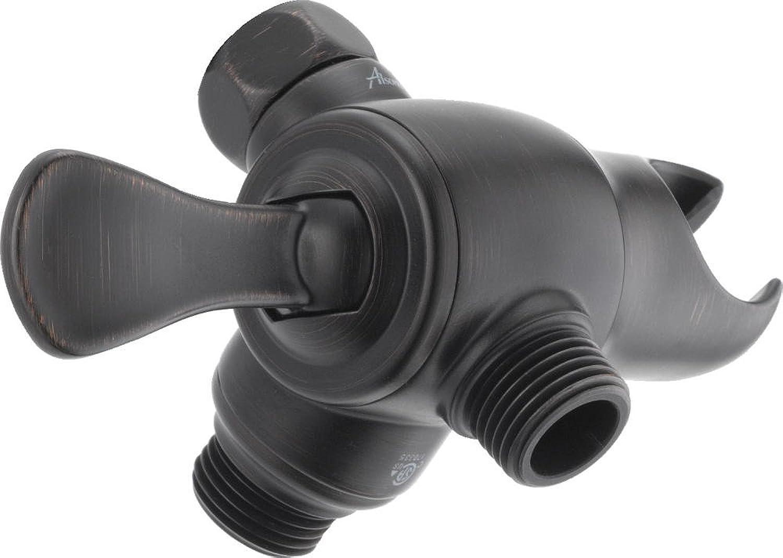 Delta Faucet U4920-RB-PK Universal Showering Components 3-Way Shower Arm Digreener with Handshower Mount, Venetian Bronze