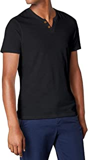 Veravant Tシャツ メンズ 無地 半袖 ヘンリーネック フィットネス おしゃれ おおきいサイズ S-XXL