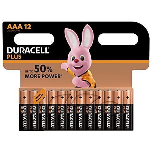 Duracell Batterie AAA, confezione da 12